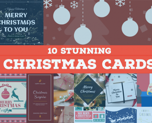 10 Stunning Christmas Cards
