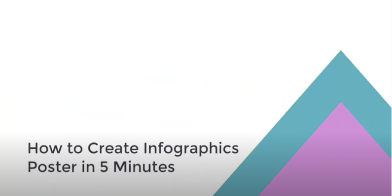 Create Infographics Poster in 5 Minutes